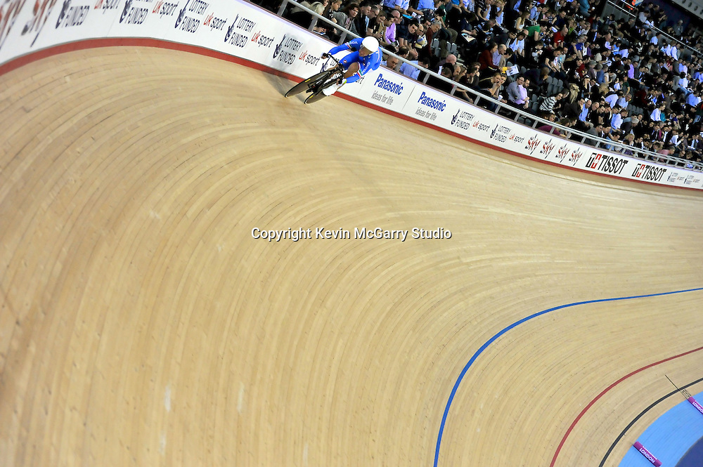 Cycling Velodrome London; UCI Cycling World Cup at London Velodrome 2012.