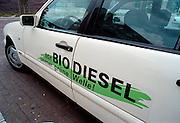 Nederland, Nijmegen, 16-6-2001..Duitse taxi die biodiesel als brandstof heeft. Milieu, bioenergie, vervuiling, alternatieve energie..Foto: Flip Franssen/Hollandse Hoogte