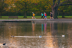 2014-11-04 Autumn sunshine greets Regents Park