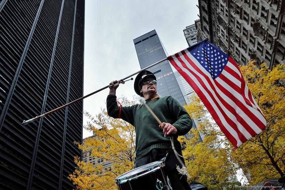 13. November 2011,  Zuccotti Park NY