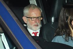 © Licensed to London News Pictures. 04/09/2019. London, UK. Jeremy Corbyn leaving Parliament.  Photo credit: Guilhem Baker/LNP