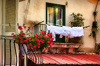 """Flowers and laundry - the charm of Positano""…<br />