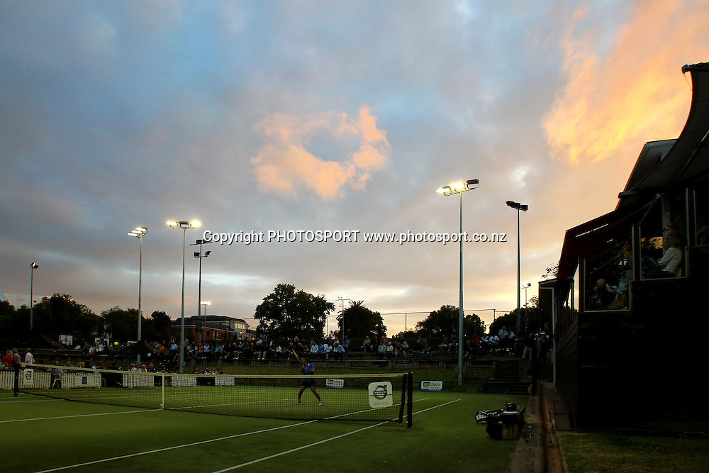 General View. Caro Bowl Semi Finals, Parnell Lawn Tennis Club, Auckland, New Zealand. Friday 3 December 2010. Photo: Anthony Au-Yeung / photosport.co.nz