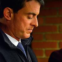 Manuel Valls en campagne a Villeurbanne