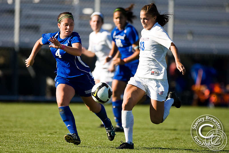 The Boise State soccer team closes out the regular season with a 1-0 upset of San Jose State in Boise, ID.