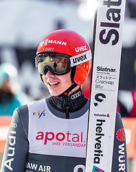 16.03.2019, Vikersundbakken, Vikersund, NOR, FIS Weltcup Skisprung, Raw Air, Vikersund, Teambewerb, im Bild Constantin Schmid (GER) // Constantin Schmid of Germany during the team competition of the 4th Stage of the Raw Air Series of FIS Ski Jumping World Cup at the Vikersundbakken in Vikersund, Norway on 2019/03/16. EXPA Pictures © 2019, PhotoCredit: EXPA/ JFK
