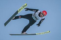 09.03.2020, Lysgards Schanze, Lillehammer, NOR, FIS Weltcup Skisprung, Raw Air, Lillehammer, Herren, Qualifikation, im Bild Markus Eisenbichler (GER) // Markus Eisenbichler of Germany during men's qualification jump of the 2nd Stage of the Raw Air Series of FIS Ski Jumping World Cup at the Lysgards Schanze in Lillehammer, Norway on 2020/03/09. EXPA Pictures © 2020, PhotoCredit: EXPA/ JFK