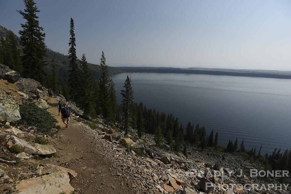 Jenny Lake Trail, Grand Teton National Park, Wyoming.