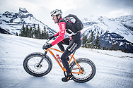 Heading up the climb during stage 2 and 3 of the first Snow Epic, the ascent and decent of Brunni Hütte near Engelberg, in the heart of the Swiss Alps, Switzerland on the 16th January 2015<br /> <br /> Photo by:  Nick Muzik / Snow Epic / SPORTZPICS