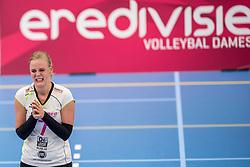 25-10-2017 NED: Sliedrecht Sport - Eurosped TVT, Sliedrecht<br /> Sliedrecht Sport wint met 3-1 van Eurosped / Daphne Knijff #7 of Eurosped