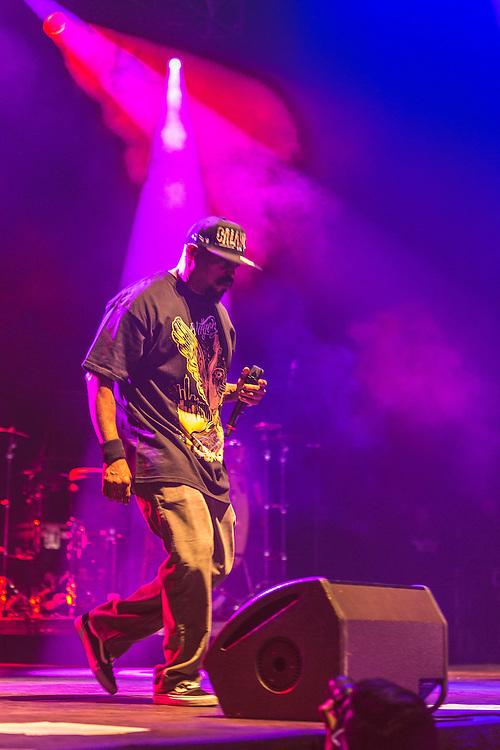 Mexico, D.F. 05/06/2015. Pepsi Center. Concierto de Cypress Hill, banda californiana de Hip Hop.
