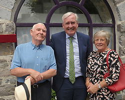 Louis and Pat Heneghan with Canadian Ambassador to Ireland Kevin Vickers at the Louisburgh / Louisbourg twinning event last weekend.<br />