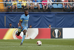 September 14, 2017 - Villarreal, Spain - 23 Patrick Twumasi of Football Club Astana   during the UEFA Europa League Group A football match between Villarreal CF vs FC Astana  at La Ceramica stadium in Villarreal  on September 14, 2017. (Credit Image: © Jose Miguel Fernandez/NurPhoto via ZUMA Press)