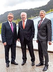 12.05.2017, Congress Centrum, Alpbach, AUT, Landeshauptleutekonferenz, im Bild v.l. Hans Niessl (BGLD), LH Michael Häupl (WI), LH Peter Kaiser (KT) // during the Governors conference of the Austrian Provinces at Congress Centrum in Alpbach, Austria on 2017/05/12. EXPA Pictures © 2017, PhotoCredit: EXPA/ Johann Groder