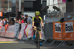 Amanda Spratt (AUS) of Mitchelton Scott Cycling Team finishes in second place in Liege-Bastogne-Liege - a 136 km road race, between Bastogne and Ans on April 22, 2018, in Wallonia, Belgium. (Photo by Balint Hamvas/Velofocus.com)