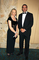 HRH PRINCESS MICHAEL OF KENT and Rugby player MARTIN JOHNSON the 2003 World cup winning captain at the annual SPARKS Winter Ball in the presence of HRH Princess Michael of Kent held at the London Hilton Hotel, Park Lane, London W1 on 15th December 2005.<br /><br /><br />NON EXCLUSIVE - WORLD RIGHTS