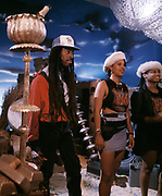 1986 Big Audio Dynamite - Medicine Show Video Shoot.