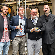 Aki Choklat is the winner of International Accessories Award of CCS - Detroit at the Graduate Fashion Week 2019 - Final Day, on 5 June 2019, Old Truman Brewery, London, UK.