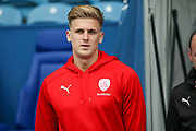 Barnsley midfielder Brad Potts (20)  come onto the pitch before  the EFL Sky Bet Championship match between Sheffield Wednesday and Barnsley at Hillsborough, Sheffield, England on 28 October 2017. Photo by Simon Davies.
