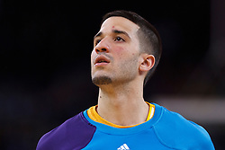 Mar 28, 2012; Oakland, CA, USA; New Orleans Hornets point guard Greivis Vasquez (21) warms up before the game against the Golden State Warriors at Oracle Arena. New Orleans defeated Golden State 102-87. Mandatory Credit: Jason O. Watson-US PRESSWIRE