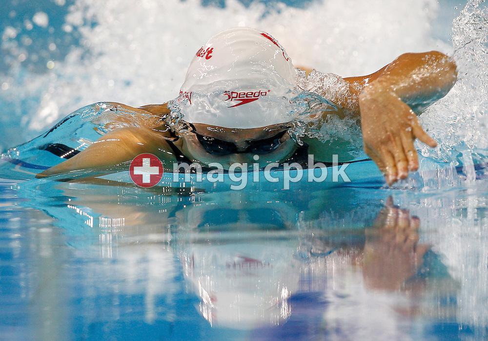Victoria POON of Canada competes in the women's 100m Freestyle Final during the 10th FINA World Swimming Championships (25m) at the Hamdan bin Mohammed bin Rashid Sports Complex in Dubai, United Arab Emirates, Friday, Dec. 17, 2010. (Photo by Patrick B. Kraemer / MAGICPBK)