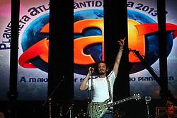 Jacob Hemphill vocalista do SOJA - Soldiers of Jah Army durante o Planeta Atlântida 2013/RS, que acontece nos dias 15 e 16 de fevereiro na SABA, em Atlântida. FOTO: Emmanuel Denaui/Preview.com