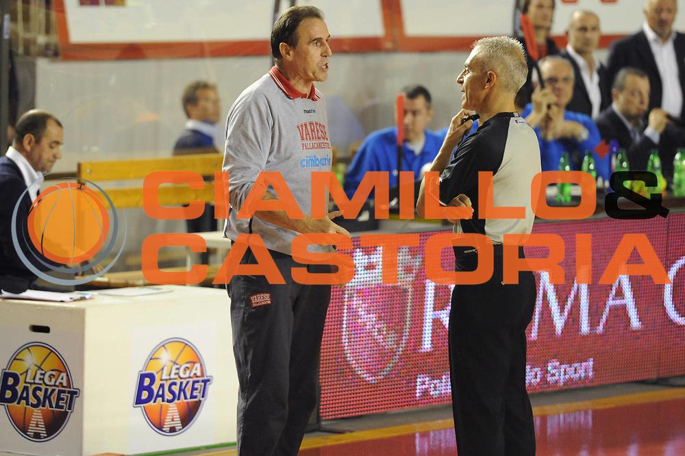 DESCRIZIONE : Roma Lega A 2011-12 Virtus Roma Cimberio Varese<br /> GIOCATORE : Carlo Recalcati<br /> CATEGORIA : coach referee<br /> SQUADRA : Virtus Roma Cimberio Varese<br /> EVENTO : Campionato Lega A 2011-2012<br /> GARA : Virtus Roma Cimberio Varese<br /> DATA : 30/10/2011<br /> SPORT : Pallacanestro<br /> AUTORE : Agenzia Ciamillo-Castoria/GiulioCiamillo<br /> Galleria : Lega Basket A 2011-2012<br /> Fotonotizia : Roma Lega A 2011-12 Virtus Roma Cimberio Varese<br /> Predefinita :