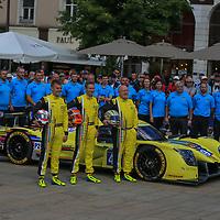 #49, ARC Bratislava, Oreca 07 Gibson, driven by: Miroslav Konopka, Konstantins Cfalko, Rik Breukers, 24 Heures Du Mans Scruntineering, 12/06/2017,
