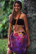Polynesian woman<br />