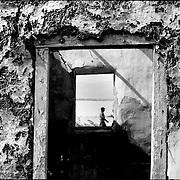 Serie: DAILY VENEZUELA / VENEZUELA COTIDIANA<br /> Fisher's town<br /> El Hatillo, Anzoategui State. Venezuela 2001<br /> (Copyright &copy; Aaron Sosa)