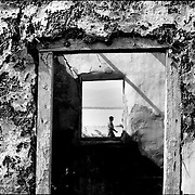 Serie: DAILY VENEZUELA / VENEZUELA COTIDIANA<br /> Fisher's town<br /> El Hatillo, Anzoategui State. Venezuela 2001<br /> (Copyright © Aaron Sosa)