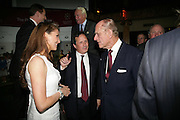 Julianne Parsons and The Duke of Edinburgh, Guards Polo Club  reception. CafŽ de Paris, Coventry Street. London. 15 May 2007. -DO NOT ARCHIVE-© Copyright Photograph by Dafydd Jones. 248 Clapham Rd. London SW9 0PZ. Tel 0207 820 0771. www.dafjones.com.