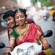 Deepika & Yamu candid wedding shoot in chennai<br />