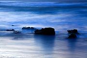 stubborn rocks in water