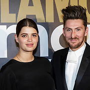 NLD/Amsterdam/20141215- Glamour Woman of the Year 2014, Pixie Geldof samen met modeontwerper Henry Holland