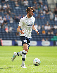 Tom Barkhuizen of Preston North End in action - Mandatory by-line: Jack Phillips/JMP - 22/07/2017 - FOOTBALL - Deepdale - Preston, England - Preston North End v Newcastle United - Pre-Season Club Friendly