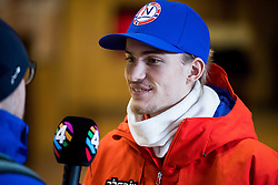 February 9, 2018 - Pyeongchang, SOUTH KOREA - 180209 Daniel-AndrŽ Tande of Norway during a press event with the Norwegian men's ski jumping team during the 2018 Winter Olympics on February 9, 2018 in Pyeongchang..Photo: Jon Olav Nesvold / BILDBYRN / kod JE / 160148 (Credit Image: © Jon Olav Nesvold/Bildbyran via ZUMA Press)