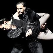 28.02.2018 German Cornejo Company dancing Tango after Dark at Sadlers Wells London UK