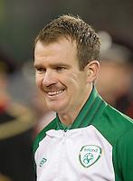 Fussball International, Nationalmannschaft   EURO 2012 Play Off, Qualifikation, Irland - Estland 15.11.2011 Glenn WHELAN (IRL); Portrait