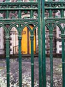 gate and door at St Andrews Church on Sturt St, Ballarat