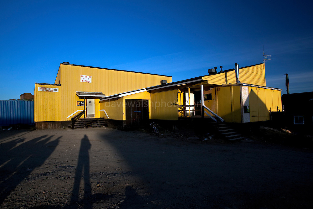 Disco Starlight - Bar in Sisimiut, the second largest town in Greenland