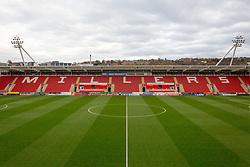 A general view of Rotherham United's Aesseal New York Stadium - Mandatory by-line: Ryan Crockett/JMP - 18/11/2017 - FOOTBALL - Aesseal New York Stadium - Rotherham, England - Rotherham United v Shrewsbury Town - Sky Bet League One