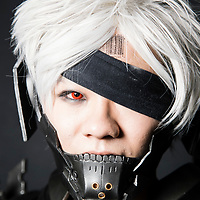 A cosplay participant dresses as Raiden of 'Metal Gear Rising Revengeance' at the 19th Ani-Com and Games Fair 2017 at the Hong Kong Convention and Exhibition Centre on 28 July 2017. The annual fair showcases animation, comics, online games, electronic games and edition collectibles, and runs from 28 July to 1 August 2017 in Hong Kong, China. Photo by Yu Chun Christopher Wong / studioEAST