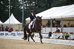 Freund Jana (GER) - Aaron<br /> Final 6 year old horses<br /> World Championships Young Dressage Horses - Verden 2011<br /> © Dirk Caremans