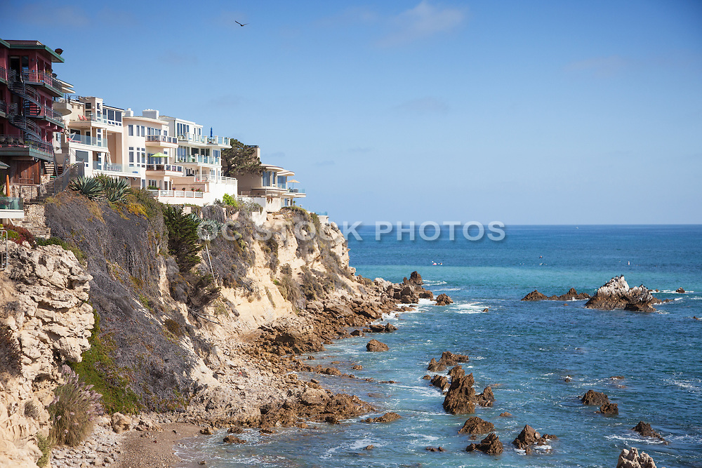 Ocean View Homes on the Bluffs of Corona Del Mar California
