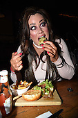 Exclusive - Lisa Appleton Night Out in London