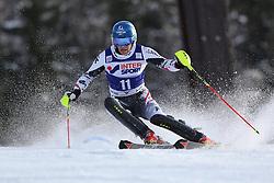 06.01.2014, Stelvio, Bormio, ITA, FIS Weltcup Ski Alpin, Bormio, Slalom, Herren, im Bild Benjamin Raich // Benjamin Raich  in action during mens Slalom of the Bormio FIS Ski World Cup at the Stelvio in Bormio, Italy on 2014/01/06. EXPA Pictures © 2014, PhotoCredit: EXPA/ Sammy Minkoff<br /> <br /> *****ATTENTION - OUT of GER*****