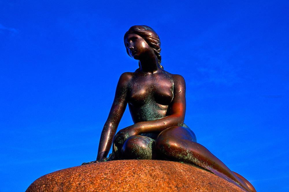 The Little Mermaid (Lille Havfrue), Copenhagen, Denmark