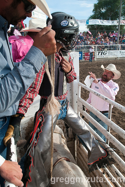 Vale 4th of July Rodeo on July 2, 2016 in Vale, Oregon.