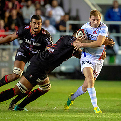 Finn Russell of Racing 92 during Top 14 match between Toulon and Racing 92 on August 25, 2018 in Toulon, France. (Photo by Henri/Icon Sport)